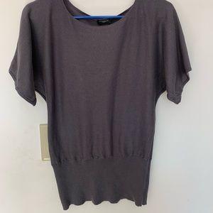 Ann Taylor M gray light summer sweater